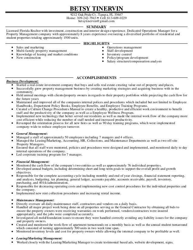Betsy Tinervin Resume 2016