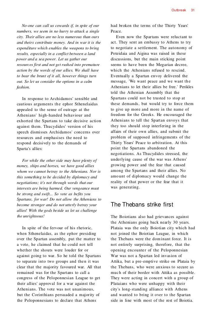 the peloponnesian war   29