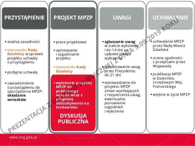 Prezentacja z dyskusji publicznej dot. projektu mpzp Oliwa Górna w rejonie ulic Stanisława Wąsowicza i Kaszubskiej  Slide 2