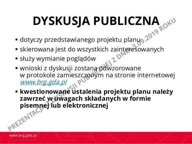 Prezentacja z dyskusji publicznej dot. projektu mpzp Oliwa Górna w rejonie ulic Stanisława Wąsowicza i Kaszubskiej  Slide 3