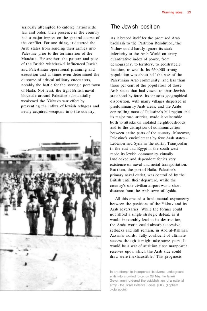 arab israeli conflict coursework A brief history of the key events and people that shaped the arab-israeli conflict.