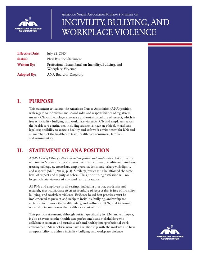 a look at violent tendencies in the american society One of the major components of an effective workplace violence program is its strategy regarding prevention this section will focus on awareness and preventive measures that can be taken to deal with threatening, intimidating, and/or potentially violent behavior.
