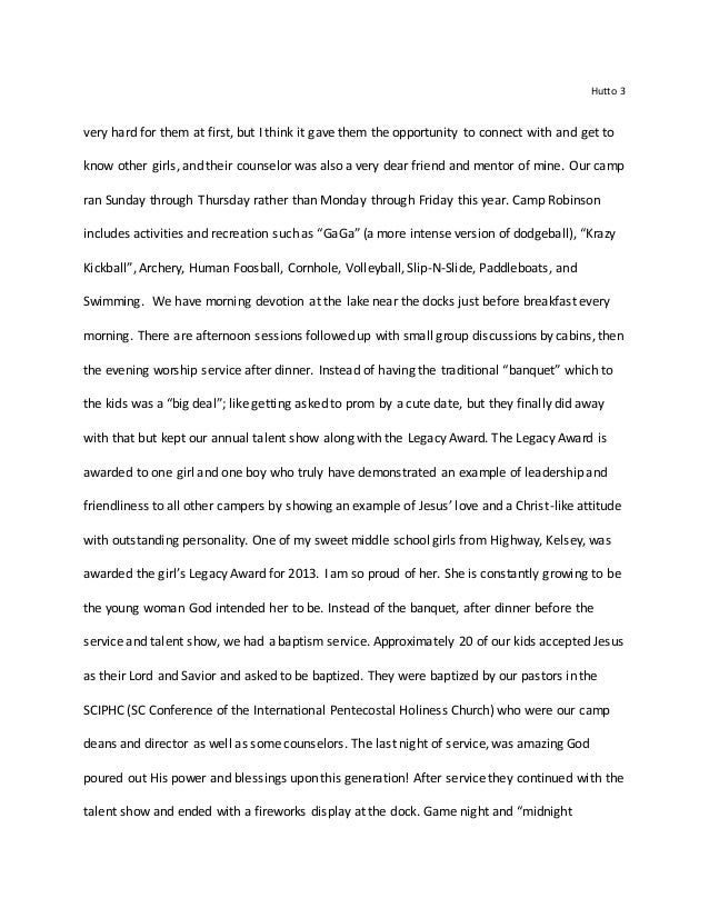 Interim Reflection Extended Essay Examples - Essay for you