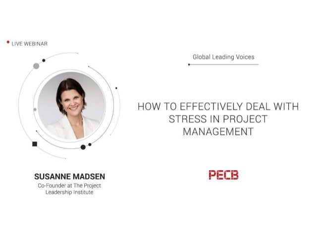 www.SusanneMadsen.com Susanne Madsen • International project leadership coach • 20 years hands-on experience leading chang...