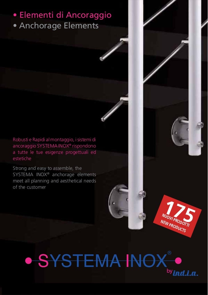 02 anchorage elements stainless steel for Stainless steel elements