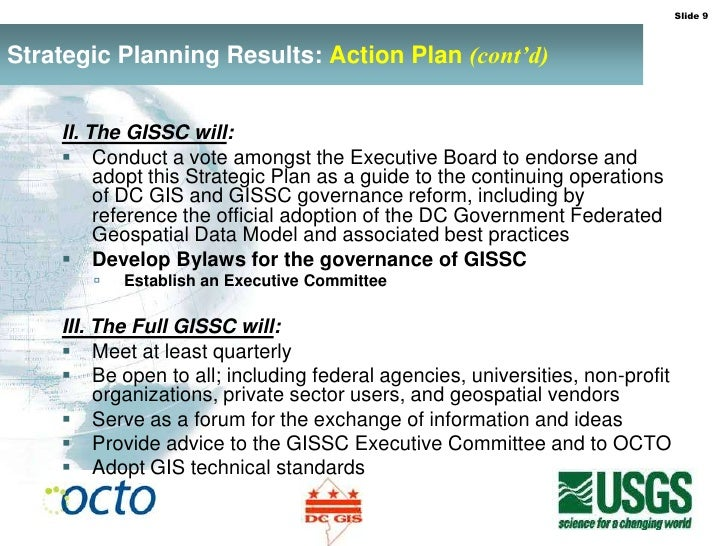 Gis strategic business plan