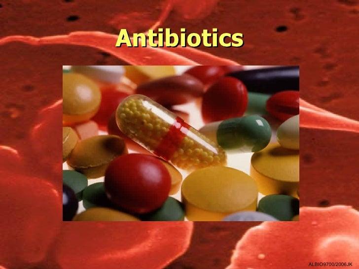 Antibiotics              ALBIO9700/2006JK