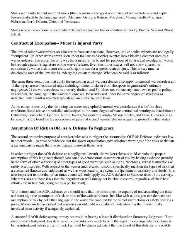 Release Of Liability Form Florida Hobitfullring
