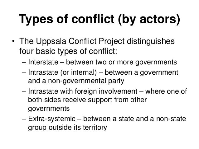 conflicts and disputes causes and types Paradigm, vol viii, no i, january-june, 2004 conflicts : types, causes and resolution strategies suresh subramoniam abstract conflicts can be viewed as a dynamic process which gen-.