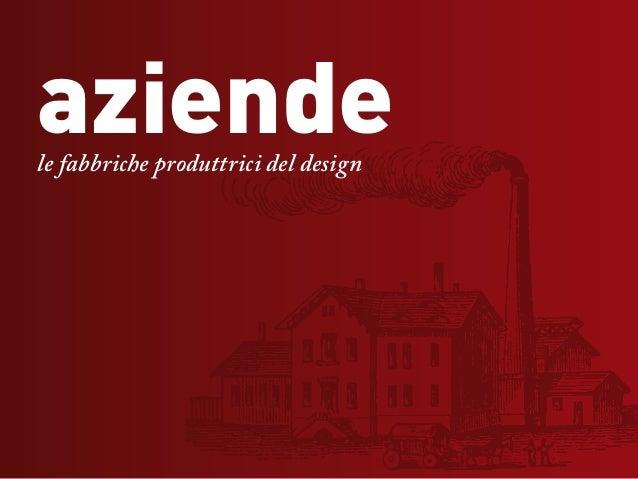 aziendele fabbriche produttrici del design