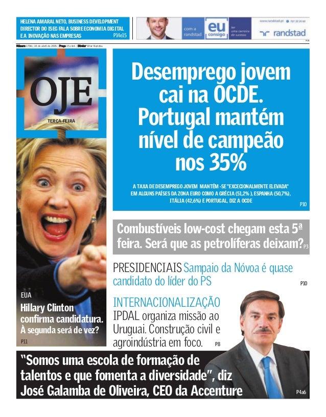 Desemprego jovem cai na OCDE. Portugal mantém nível de campeão nos 35% EUA Combustíveis low-cost chegam esta 5ª feira. Ser...