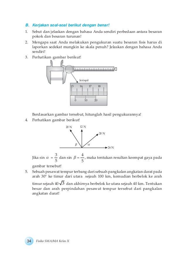 Buku Fisika Kelas X Bab 1