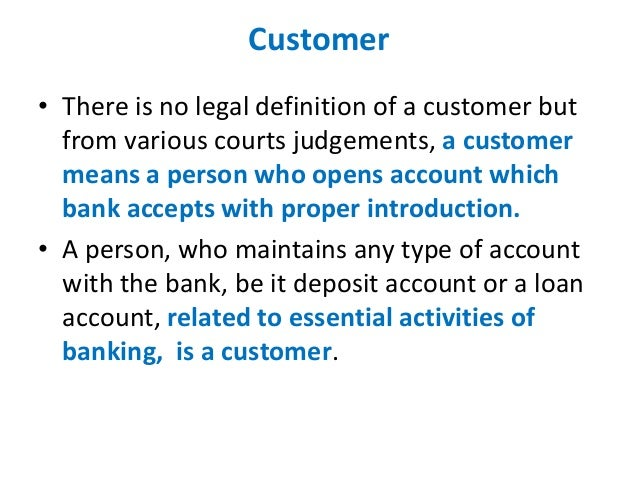 various types of banker and customer relationship management