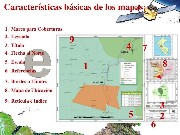 02 cartografia for Cuales son las caracteristicas de un mural
