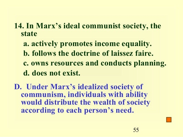 marxs ideal society Furthermore, it provides the ground for marx's ideal of human flourishing implicit  in his vision of a communist society, components of which are supported by kro.