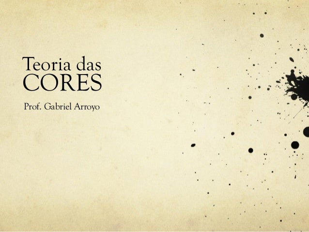 Teoria dasCORESProf. Gabriel Arroyo