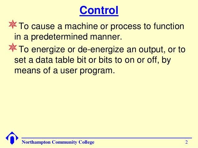 Control Systems Basics Slide 2