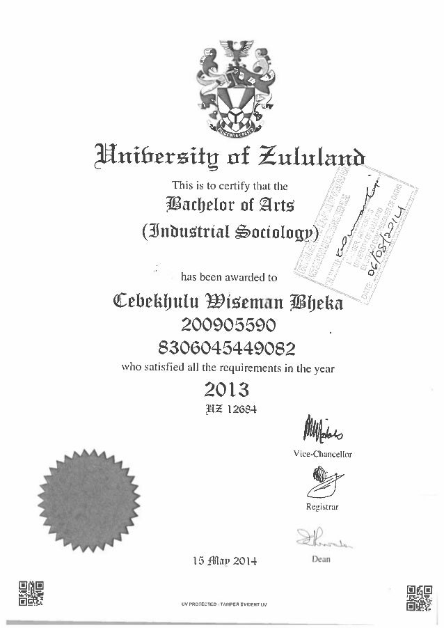 Degree Copy
