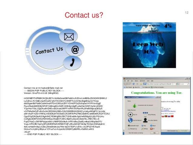 Deep and Dark internet Safari, How to hire a hacker? Robbrecht van Am…