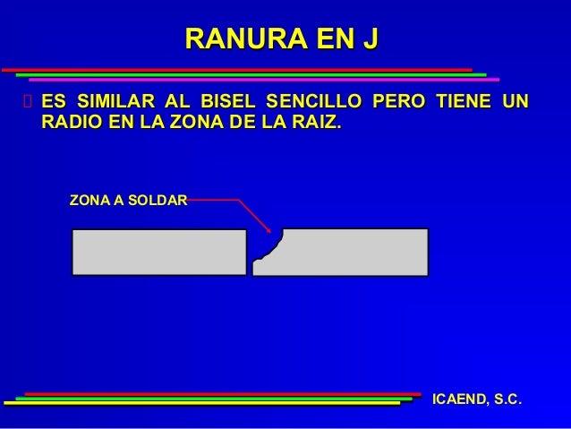 RANURA EN JES SIMILAR AL BISEL SENCILLO PERO TIENE UNRADIO EN LA ZONA DE LA RAIZ.  ZONA A SOLDAR                          ...