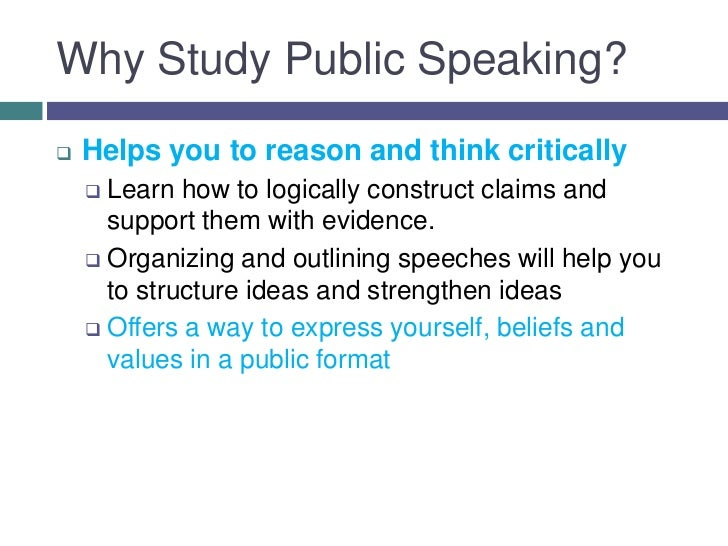 the important elements i learned from communication 103 public speaking Discover the basic elements of the communication process and learn how two or more people exchange ideas.