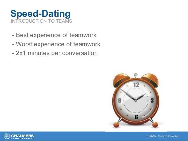 Speed dating design thinking