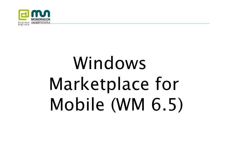 Movilidad 2: Dispositivos Móviles