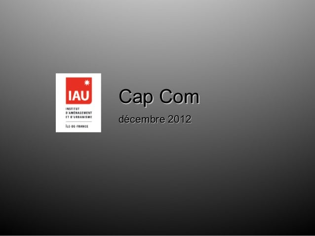 Cap Comdécembre 2012