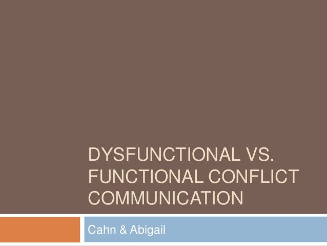 functional conflict Theories are an essential part of the framework used to organize specific social phenomena within the social sciences this lesson introduces the four major theoretical perspectives in.