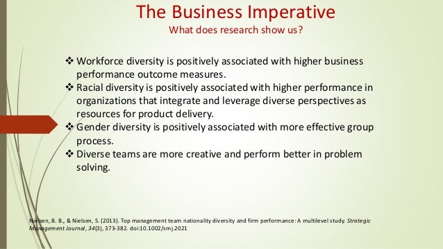 Diversity in organizations essay