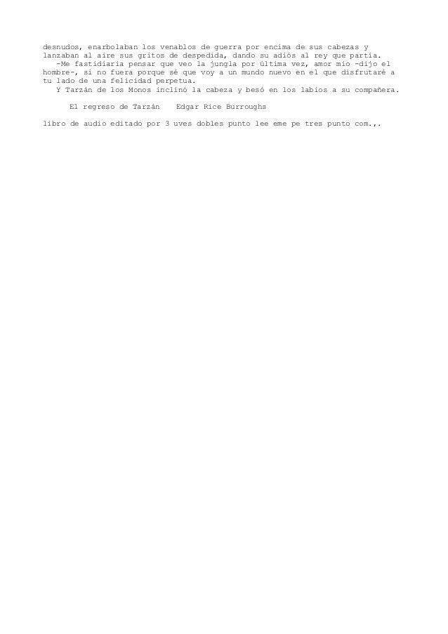 02 el regreso de tarzan burroughs