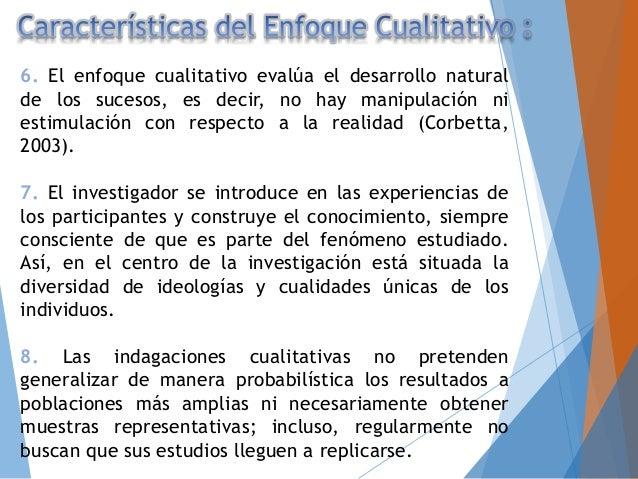 """Investigación Cualitativa Investigación Cuantitativa Admite subjetividad Busca objetividad Datos """"ricos y profundos"""" Datos..."""