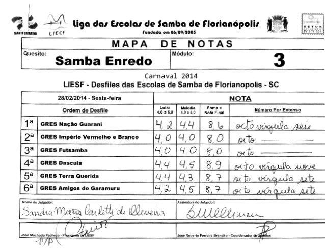 "~t4  liga dal EICOial de Samba de rlotianOpolil  l/ f: ~ f  SANTA CATARINA  SEC HE rAHlA  MUN!Clr>Al OE TUR:l~MO i""' .... ..."