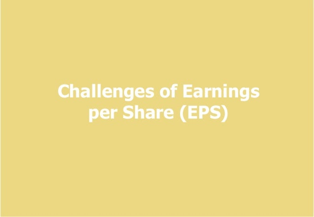 ArgonPro consulting training 1 Challenges of Earnings per Share (EPS)