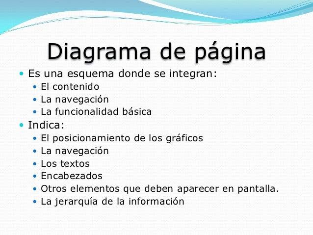 Estructura y dise o de un sitio web for Que es una pagina virtual