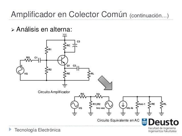 Circuito Transistor : Configuraciones con transistores bjt