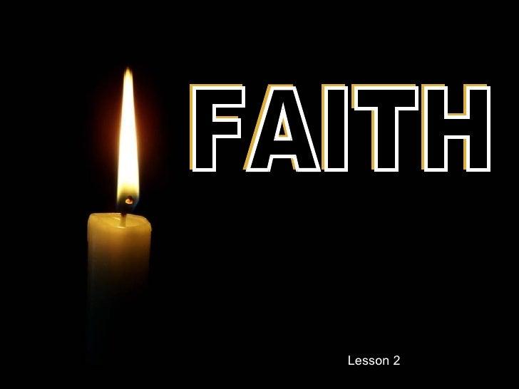 FAITH Lesson 2