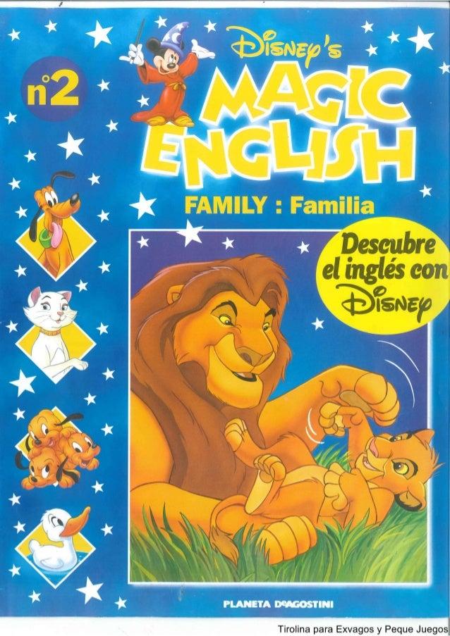 Disney Magic English  Family familia