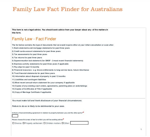 Formstack This form is not a legal advice. You should seek advice from your lawyer about any of the matters in this form. ...