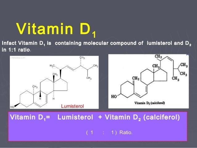 Vitamin D1 Structure VITAMIN D[ SUNSHINE VI...