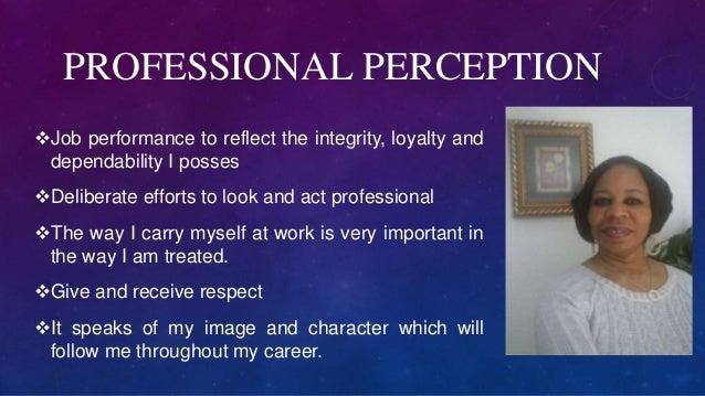 Unit 9 Assignment Professional Presence
