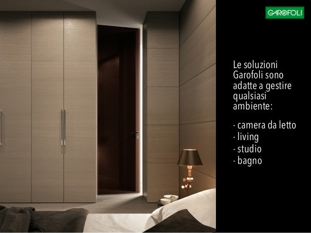 Soluzioni integrate per la progettazione contract - Porte x cabine armadio ...
