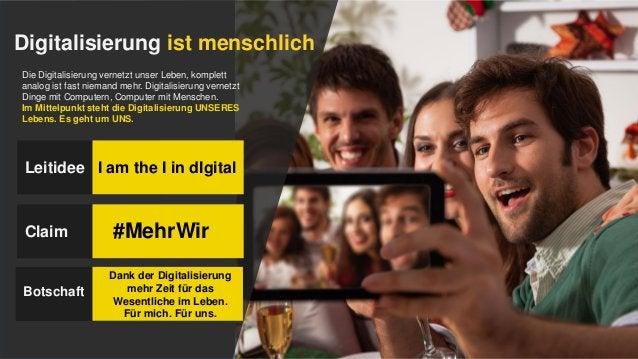 Digitalisierung ist menschlich Die Digitalisierung vernetzt unser Leben, komplett analog ist fast niemand mehr. Digitalisi...