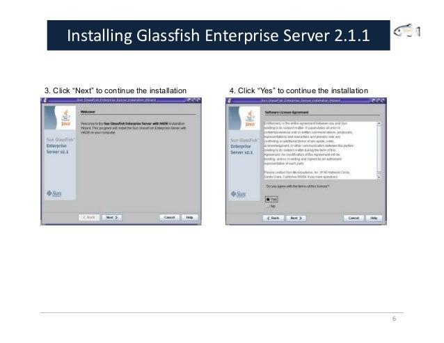 glassfish application server 2.1.1