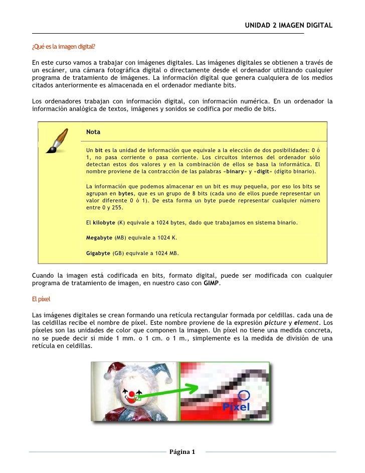 02 Gimp. Imagen Digital Slide 3