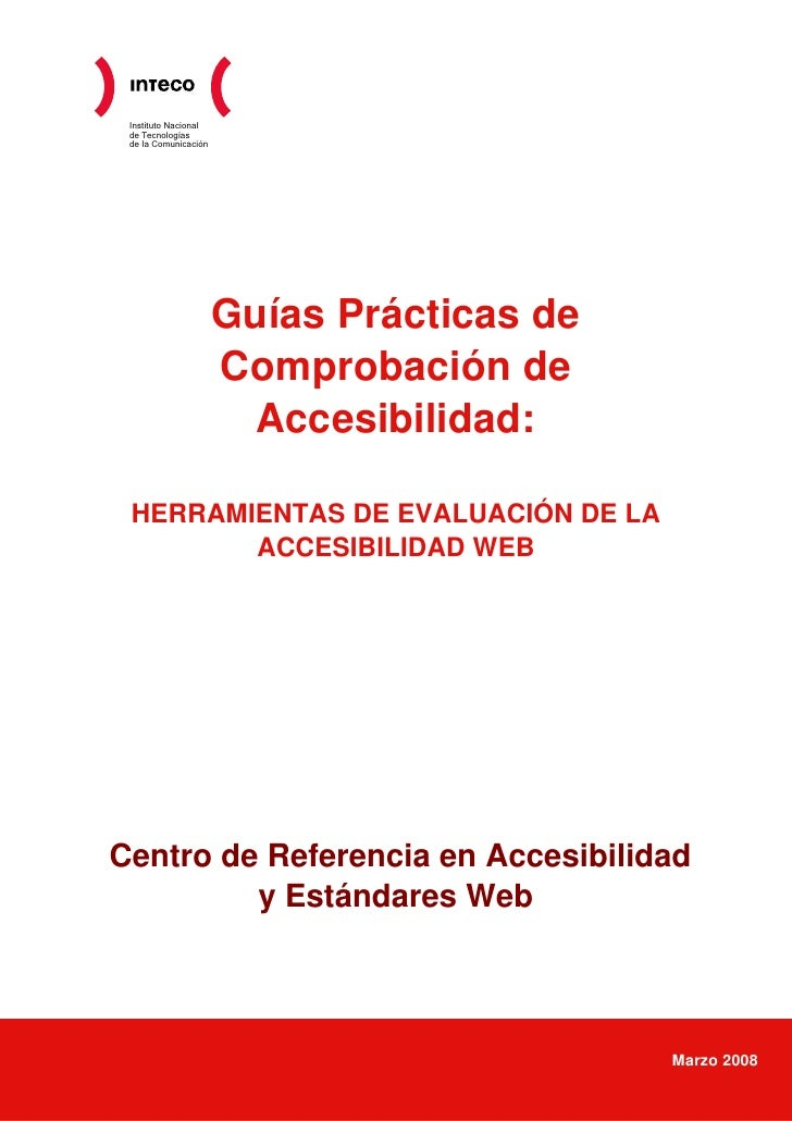 Instituto Nacional  de Tecnologías  de la Comunicación                           Guías Prácticas de                       ...