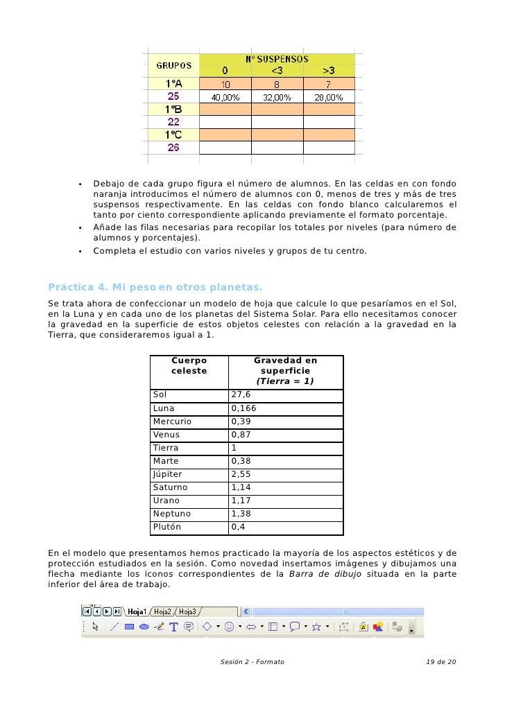 02 Hoja De Calculo En La EnseñAnza. Formato