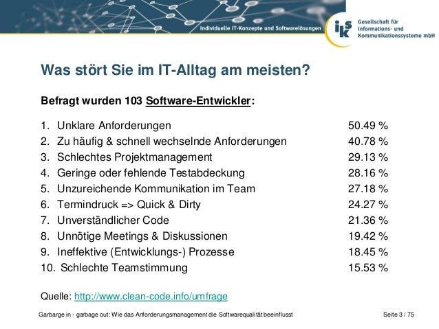 Mehr Softwarequalität: Requirements Engineering Slide 2