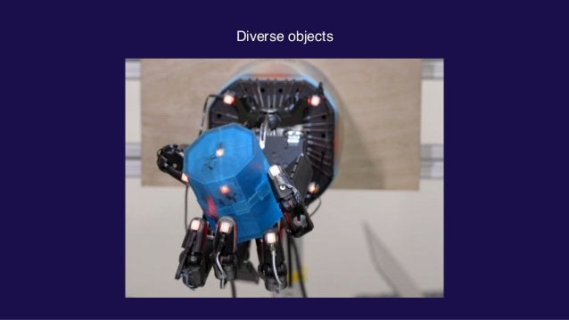 Diverse objects