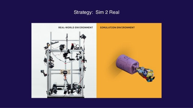 Strategy: Sim 2 Real